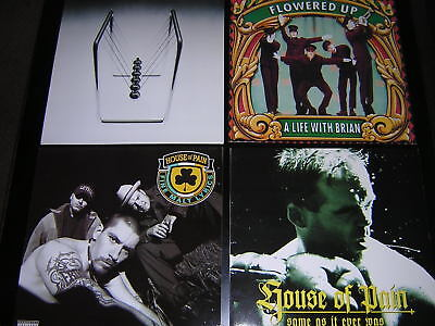 4 Album Sleeves - House Of Pain/flowered Up/fluke