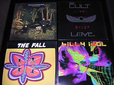 "3 Album Sleeves + 1 Promotional 12""x12"" Card - The Fall/the Cult +2"