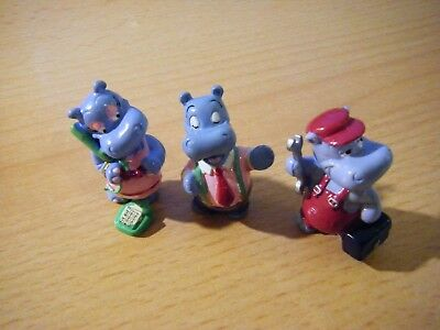 3 Ü-Ei-Figuren - Happy Hippo Company - 1994
