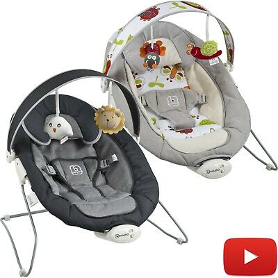 BabyGo Babywippe Baby Wippe Vibration Babywiege Bouncer Schaukelwippe NEU COZY