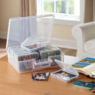 Photo Archiving Organizer Stores 1600 4x6 Pictures
