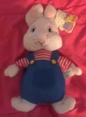 "Max & Ruby Plushy Doll Bunny Rabbit Kellytoy 14"" (Max doll only)"