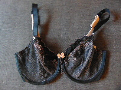 c59eed9a7a BNWT M   S Post Surgery Bra Non Wired Cotton Lined Non Padded Black ...