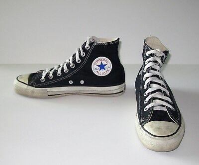 10a4b906f42a97 Converse Chuck Taylor Black All Star High Top Sneakers Made in USA Mens 7  Shoes