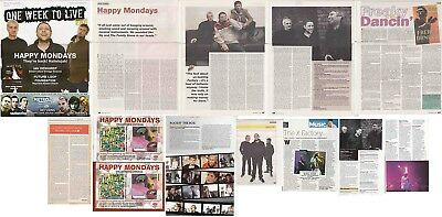 HAPPY MONDAYS : CUTTINGS COLLECTION -interviews-