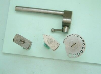 Watchmakers Lathe  Pivot repair drilling guide tool watch lathe  boley lathe