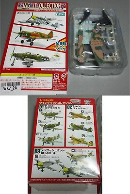 F-Toys Wing Kit Collection Vol 7 - Flugzeug - P-40E - Version 2A - 1/144
