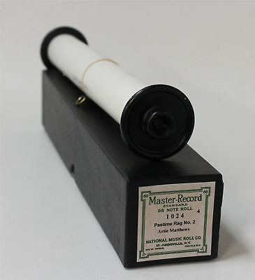 NATIONAL MUSIC ROLL CO. Standard 88 Note Pastime Rag No.2 Recut Piano Roll