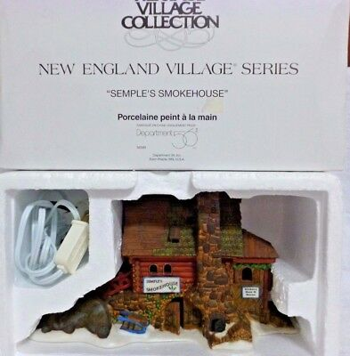 Dept 56 New England Village Semple's Smokehouse - 56580