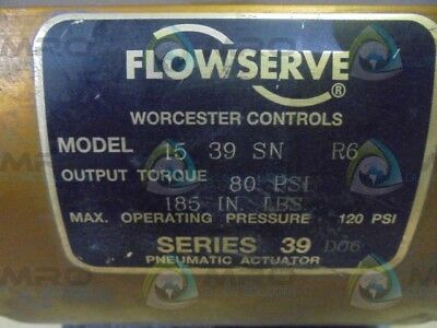 Flowserve 1539Snr6 Pneumatic Actuator *used*
