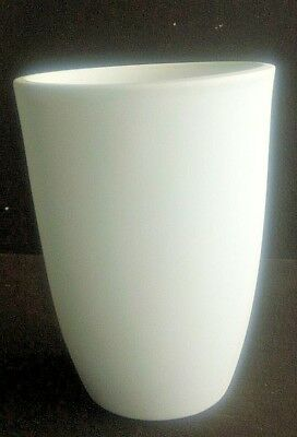 """Coors Porcelain Bisque Vase – 6"""" Tall – Marked Coors USA 10374"""