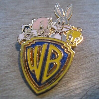 Vintage Warner Brothers Cartoon Brooch Pin Bugs Bunny Porky Pig Tweety Bird Etc