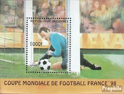Guinea Block506 unmounted mint / never hinged 1997 Football-WM in France