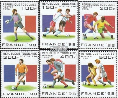 Togo 2389-2394 (complete.issue.) unmounted mint / never hinged 1996 Football-WM