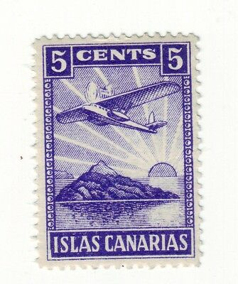 1930s AFRICA COAST * LOCAL CANARY  ISLANDS  FLIGHT  MINT == 1 ==