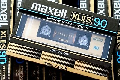 Maxell Xlii-S 90 Epitaxial High Bias Type Ii Blank Audio Cassette - Japan 1983