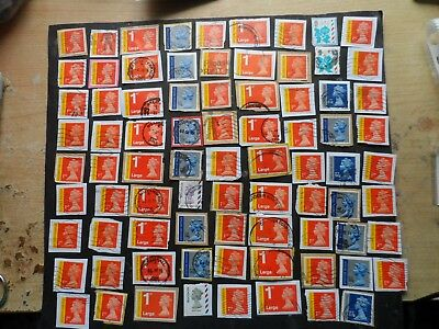 80 g.b. recorded delivery special del,&  world USED stamps on paper see photos