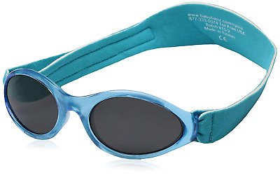 Dooky Baby Banz Sunglasses 0-2 years Blue Tribal// Crowns New 2018 Design!
