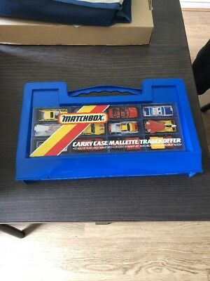 Matchbox Carry Case to hold 18 Diecast Cars Vintage - Free Postage