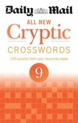 Daily Mail All New Cryptic Crosswords 9 by Daily Mail 9780600634966