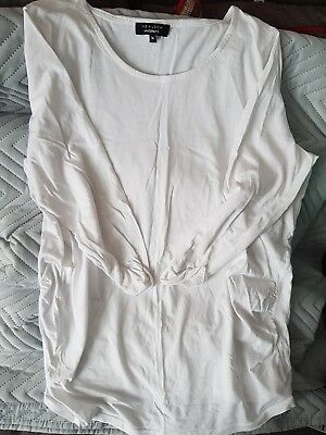 maternity long sleeved t-shirt size 14 new look