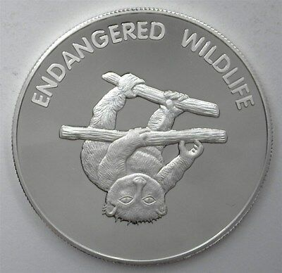 Endangered Wildlife Series 2005 10 Kwacha - Potto - Perfect Proof Dcam