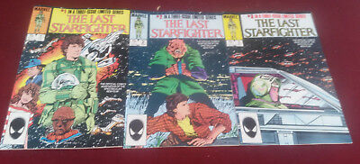 Marvel Comics The Last Starfighter Limited Series 3 issues Very Fine condition