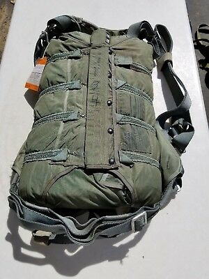 US Navy NB8 Backpack 28' C-9 Parachute Dated 1998 MFG Mills