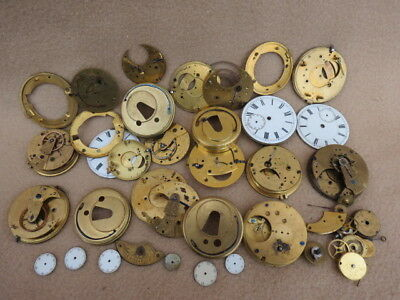 Collection Of Antique Mainly English Fusee And Other Pocket Watch  (Lot 2)