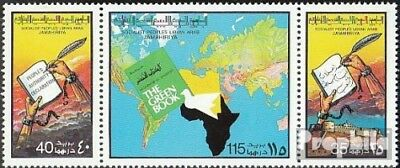 Libya 621-623 triple strip unmounted mint / never hinged 1977 that Green Book of