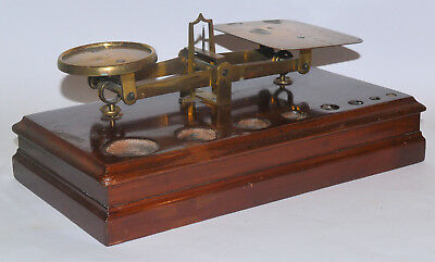 Large set of Post Office scales - Eden Fisher & Co., London