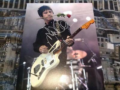 Johnny Marr Hand Signed 10 X 8 Photo Guitar The Smiths Manchester Legend Coa 5