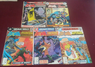 DC Comics The Brave and the Bold 5 Issues #98 Poor, 111  Whitman 145,146,147