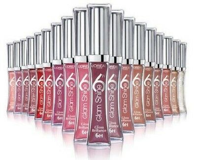 L'oreal Glam Shine Lip Gloss 6 hrs hour Brilliance