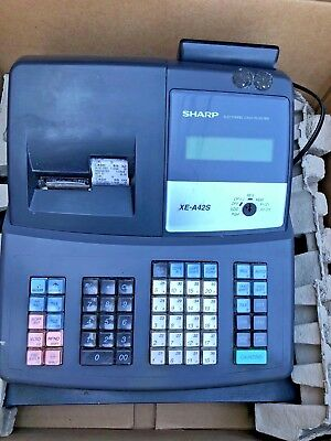 Sharp XE A42 Cash Register--Our last one!