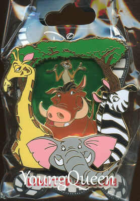 Lion King Stained Glass Good Vs Evil Fantasy Pin Jumbo 35 Le50