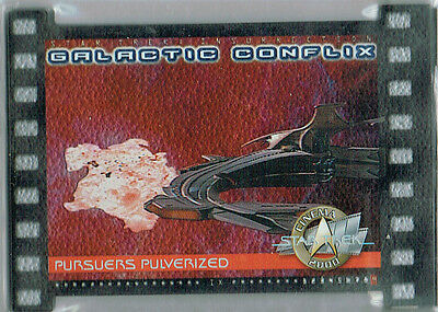 Star Trek Cinema 2000 Galactic Conflix Card Gc9/1000