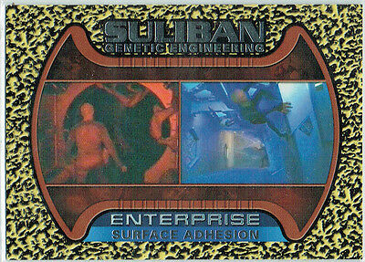 Star Trek Enterprise Season 1 Suliban Genetic Engineering Card S5