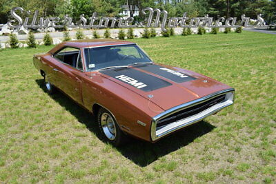 1970 Dodge Charger  1970 Burnt Orange HEMI All Matching Automatic Galen Govier Certified