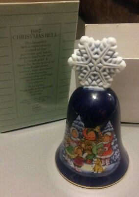 Vintage Avon 1987 Christmas Bell NEW in ORIGINAL BOX