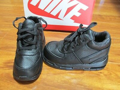 best sneakers d316c f860a New Nike Air Max Goadome Boot Shoes Toddler Boys 10C Black black 311569 001   60