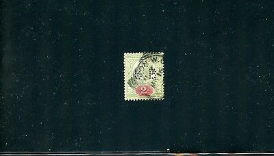 Lot 70522  Uk 113  Used Lsb Perfin Stamps Great Britain Queen Victoria