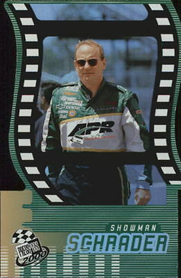 2000 Press Pass Showman Die Cuts #SM10 Ken Schrader