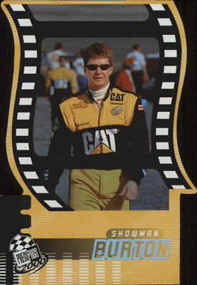 2000 Press Pass Showman Die Cuts #SM18 Ward Burton