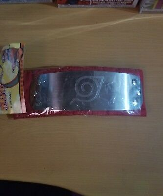 Naruto Shippuden Naruto Red Leaf Village Cosplay Headband