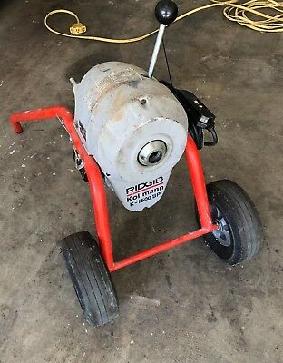 Ridgid 115-Volt K-1500SP Sectional Sewer and Drain Cleaning Machine