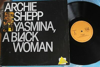 Lp /  Archie Shepp -Yasmina, A Black Woman //