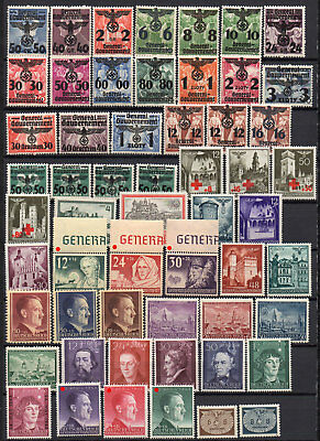 German Third Reich areas WW2 General Gouvernement MH (2952