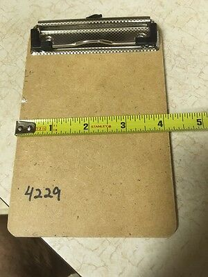 4 x 6 Clipboard clip board for holding small notes custom made