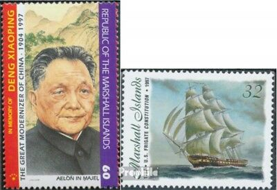 Marshall-Islands 818,864 unmounted mint / never hinged 1997 Deng Xiaoping, Ship